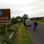 Cycle for Wild Futures team arrives in Scotland arrival